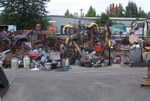 artist project scrap metal in salem or corvallis and eugene oregon cherry city metals