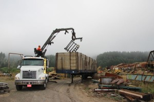 cherry city metals site drop box clean up in salem or coravllis oregon and eugene metal removal