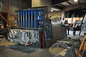 safe scrap metal equipment in salem or and eugene oregon